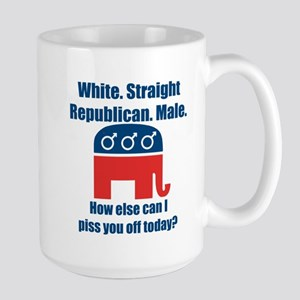 Republican Male Large Mug