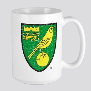 Norwich Canaries Crest 15 oz Ceramic Large Mug