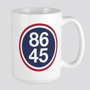 86 45, Impeach Trump Mugs