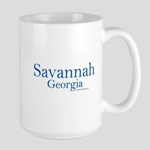 Savannah GA Large Mug