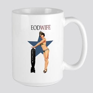 SEXY EOD WIFE Large Mug