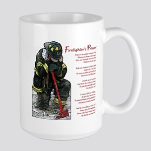Firefighter Prayer Large Mug