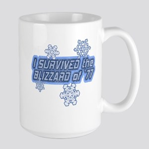 Blizzard of '77 Large Mug