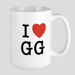 I Heart GG Large Mug