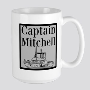 Personalized Captain Large Mug