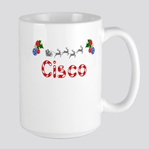 Cisco, Christmas Large Mug