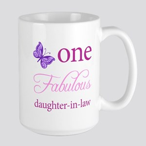 One Fabulous Daughter-In-Law Large Mug