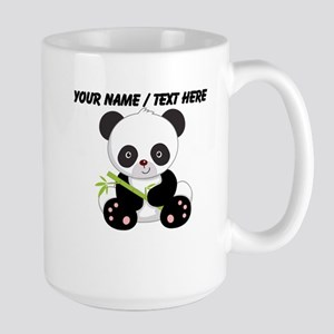 Custom Panda With Bamboo Mug