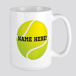 Personalized Tennis Ball Mugs