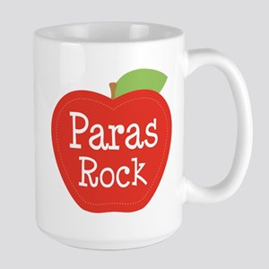 Paraeducator Paras Rock apple 15 oz Ceramic Large