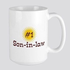 #1 Son-in-law Large Mug