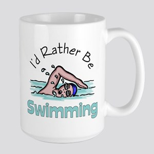I'd Rather Be Swimming Mugs