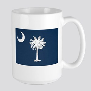 South Carolina Palmetto Flag Large Mug