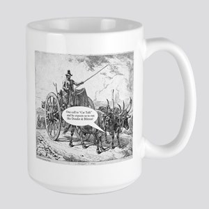 One Call to Car Talk Large Mug