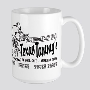 Texas Tommy's Truck Stop, Amarillo, TEX Large Mug
