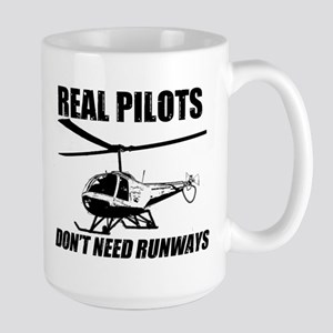 Real Pilots Dont Need Runways - Enstrom Mugs