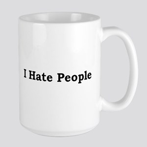 i hate people Mugs