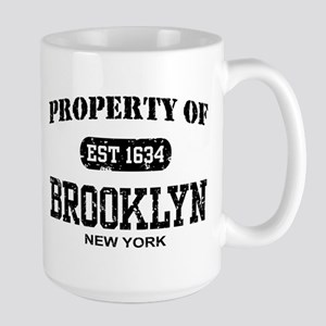 Property of Brooklyn Large Mug
