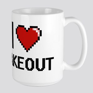 I love Takeout Digital Design Mugs
