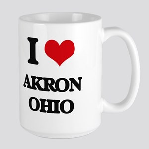 I love Akron Ohio Mugs