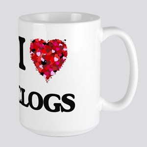 I love Clogs Mugs