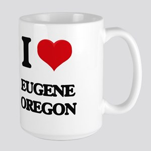 I love Eugene Oregon Mugs