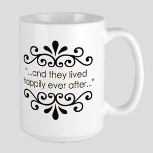 'Happily Ever After' Large Mug