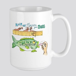 How to Measure your Bass Large Mug