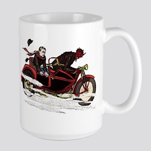 Krampus The Biker Mugs