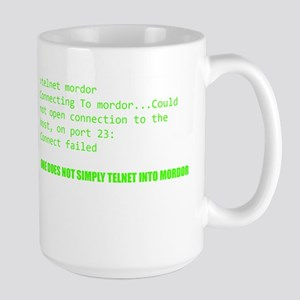 One Does Not Simply Telnet Into Mordor Mugs