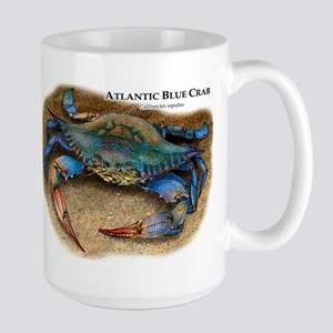 Atlantic Blue Crab Large Mug