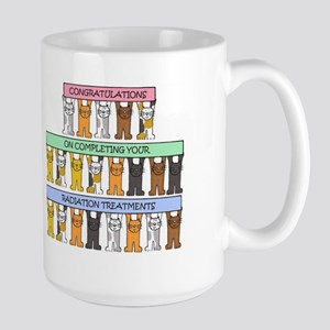 End of radiation treatments congratulations. Mugs