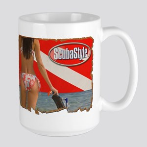 Scubastyle - Beautiful View Large Mug