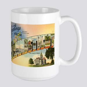 Connecticut CT Large Mug