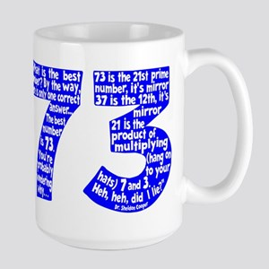 BEST NUMBER 73 Large Mug