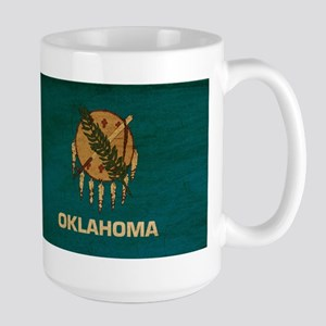 Oklahoma Flag Large Mug