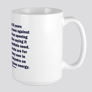 Democrats Shortsighted Dishonest V2 Large Mug