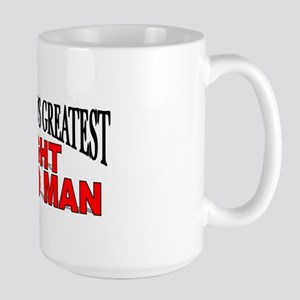 """The World's Greatest Right Hand Man"" Large Mug"