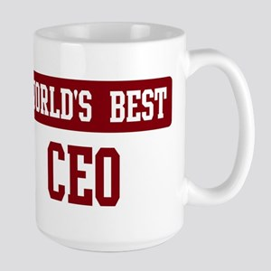 Worlds best CEO Large Mug