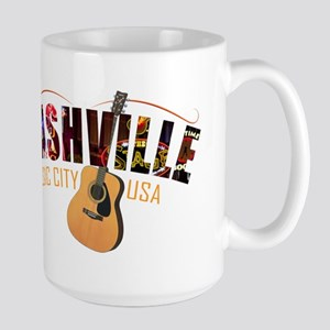 Nashville Music City USA Mugs