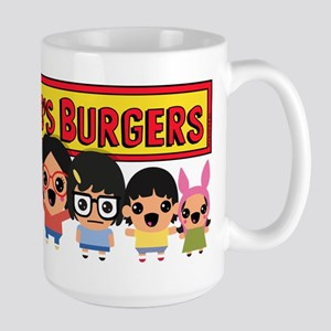 Bob's Burgers Family 15 oz Ceramic Large Mug
