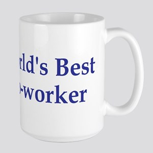 World's Best Co-worker Large Mug