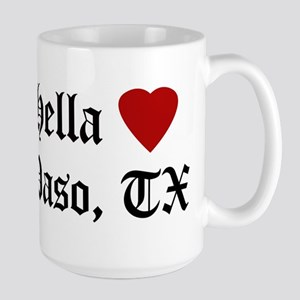 Hella Love El Paso 15 oz Ceramic Large Mug