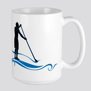 Stand Up Paddle-Waves Mugs