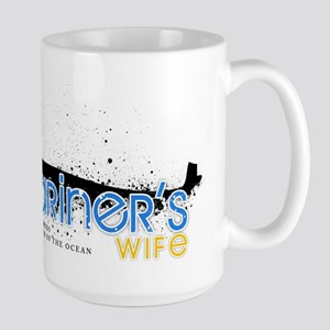 Submariner's Wife Large Mug