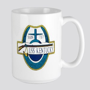USS Kentucky SSBN 737 Large Mug
