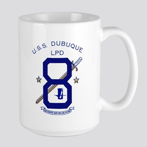 USS Dubuque LPD 8 Large Mug