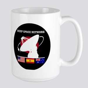 Deep Space Network Large Mug