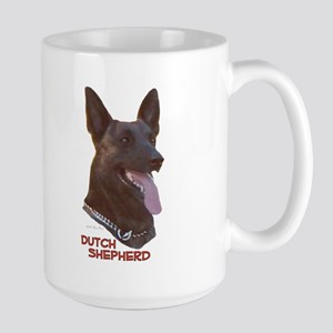 Dutch Shepherd Large Mug