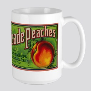Palisade, CO Peaches - Vintage Crate Label Mugs